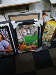 Radha Krishna Photo Frame