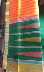 Handloom Single And Double Thread Saree