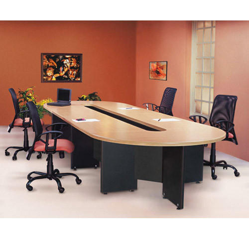 Conference Table Godrej Conclave Table Wholesale Trader From Navi - Red conference table