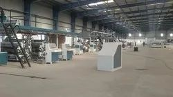 5 Ply Combined Automatic Paper Corrugated Board Making Plant