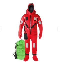 various option available Red Lalizas Immersion Suit