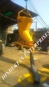 Screw Jack Type Banana Concrete Bucket