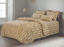 Floral Bed Sheet for Double Bed