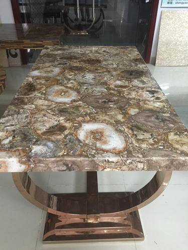 Merveilleux Petrified Wood Table Top