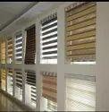 Wooden White, Brown Etc. Zebra Blinds, Size: 3 X 2 Feet