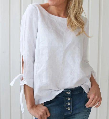 a0dd5bb96 Women Linen Shirts