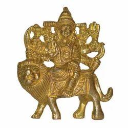 Brass Durga Maa Statue