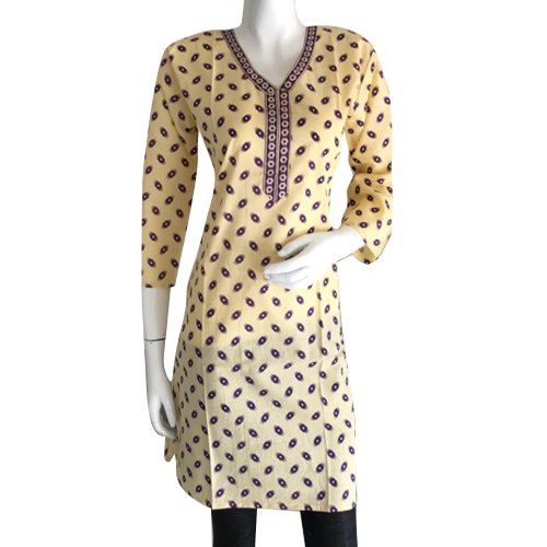 Party Wear XL Digital Printed Cotton Kurti