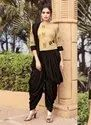 New Designer Party Wear Top and Dhoti
