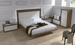 Northern Teak wood Designer Bed With Box, Warranty: 1 Year
