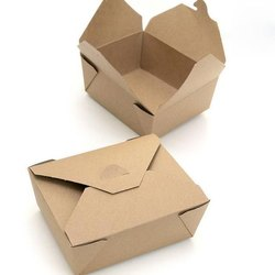 Biodegradable Printed Meal Box