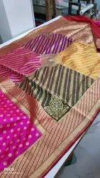 Banarasi Handlooms Silk Saree, Length: 6.3 m
