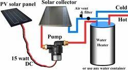 Solar Water Heating Pump