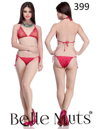 0d9e1cf2f3a25 Belle Nuits Pink Bra   Panty Sets at Rs 399  set