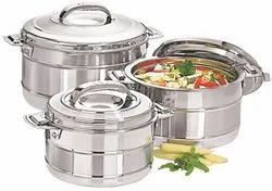 Stainless Steel Food Warmer Non Electric