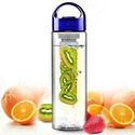Blue  Mount Top Fruit Infuser Water Bottle