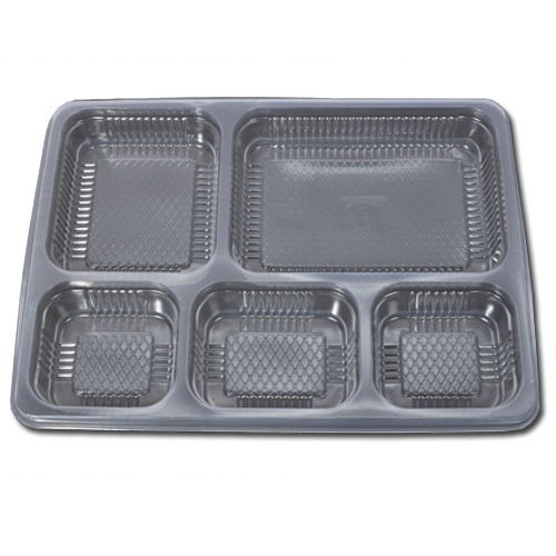 5 Compartments Combo Meal Tray