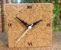 Cork Desk Clock