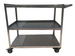 Instrument Trolly Stainless Steel)