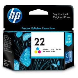HP 22 Tri-Color Original Ink Cartridge