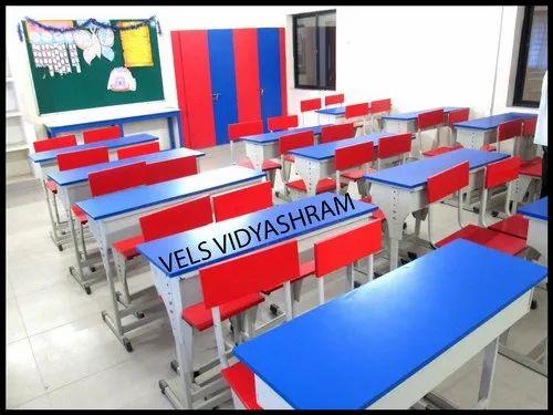 Steel And Wood School Furniture Rs 4800 Set Sharon Furniture