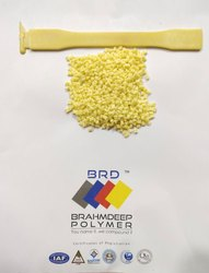 Light Yellow Polyphenylene Oxide Plastic Granule, Packaging Size: 25 Kg