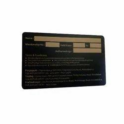 PVC Membership Card Printing Services