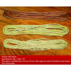 Wax Rope For Foundries