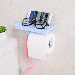 Multi-Functional Tissue Roll Holder