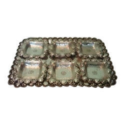 Dry Fruit Silver Tray