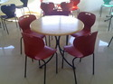 Round Canteen Table
