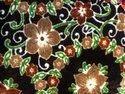 58 Inch -jayshree Printed Coffee-maroon Velvet Fabrics, Gsm: 150-200