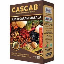 Cascab 50 g Super Garam Masala, Packaging: Box