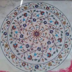 Round Inlay Work Circle