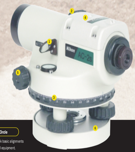 Nikon AC-2s Automatic Level 24x Magnification