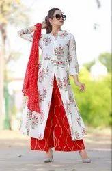 Cotton Designer Floor Suit