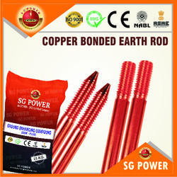 SG Power Copper Bonded Earth Rod