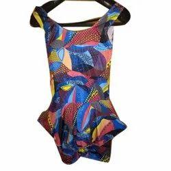 Women Lycra,Nylon Ladies Sleeveless Swimwear, 10, Model Number: 242