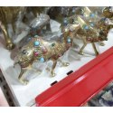 Antique Brass Camel Statue