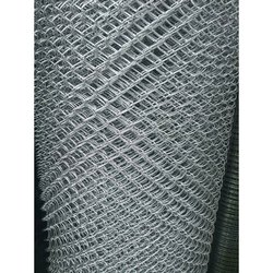Silver Galvanized Iron GI Boundary Fencing Mesh, Thickness: 2-3 Mm (wire)