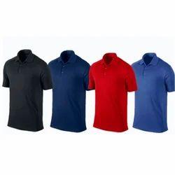 Green And Maroon Half Sleeves Collar Polo T-Shirt Dri-fit