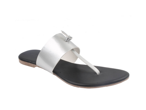 8bc4aabbda1d73 Product Image. Black Leather Flats Classy Ladies Slippers