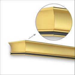 Yellow Gold Window Pelmets