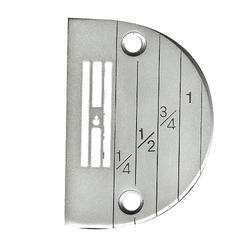 Stainless Steel Sewing Machine Needle Plate, Weight: 200 g