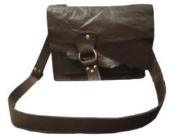 Brown Mon Exports Genuine Leather Side Bag, Pure Leather: Yes
