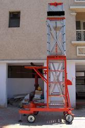 Industrial Tiltable Trolley Tower Ladder