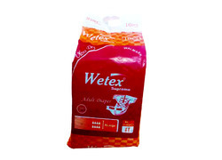 Wetex Supreme Adult Diaper Xl (10 Pc Pack), For 40-59 Inch