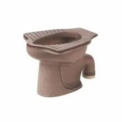 Coffee Brown Anglo Indian Water Closet