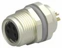 M8 4Pin Female Panel Mount Connector