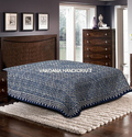 Indigo Blue Cotton Bed Covers